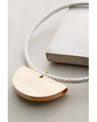 Sophie Monet | White Siren Song Necklace | Lyst
