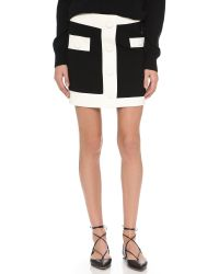 Boutique Moschino | Black Miniskirt | Lyst