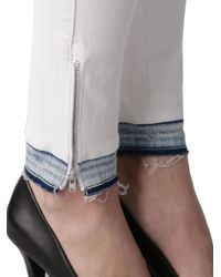 DIESEL - White Skinzee-low-zip 08t43 - Lyst