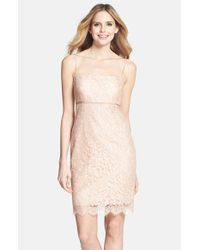 Jenny Yoo | Natural 'cosette' Lace Dress | Lyst