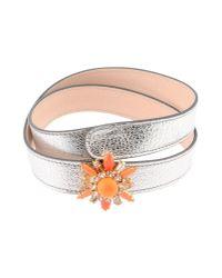 Shourouk | Orange Beedis Bracelet | Lyst