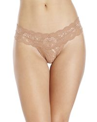 Cosabella | Brown Never Say Never Cutie Low Rider Thong | Lyst