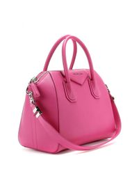 Givenchy - Pink Antigona Small Leather Tote - Lyst