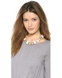 Lizzie Fortunato - Metallic Open Sky Necklace - Lyst