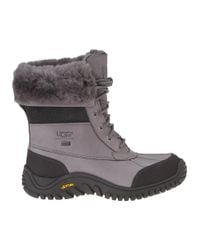 UGG | Gray Adirondack Ii Snow Boot Grey Leather | Lyst