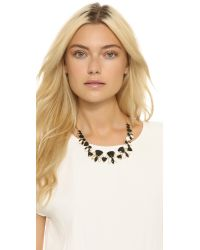 Kate Spade | Metallic Twinkle Lights Necklace - Neutral Multi | Lyst