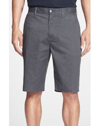 Volcom | Gray Modern Stretch Shorts for Men | Lyst