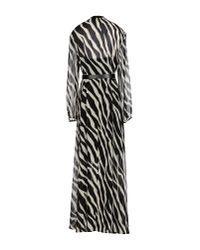 MICHAEL Michael Kors - Black Long Dress - Lyst