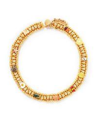 Venessa Arizaga - Yellow 'Coco - Banana' Necklace - Lyst