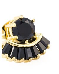 Iosselliani | Black 'all That Jewels' Earrings | Lyst
