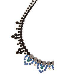 Joomi Lim - Blue Crystal & Pearl Necklace - Lyst