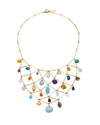 Wendy Mink | Multicolor Multi-stone Bib Necklace | Lyst
