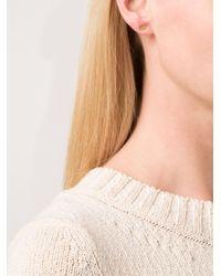 Marie-hélène De Taillac | Metallic Lip Earrings | Lyst