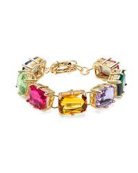 R.j. Graziano | Multicolor Multi-color Bright Crystal Bracelet | Lyst