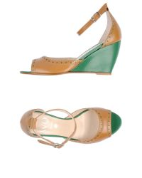 Wo Milano - Natural Sandals - Lyst