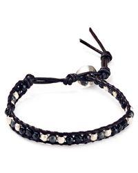 Chan Luu - Black Single Beaded Wrap Bracelet - Lyst