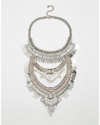 ALDO | Metallic Greenacres Necklace | Lyst