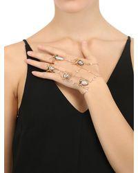 Daniela Villegas | Metallic Araneido Spider Hand Bracelet | Lyst
