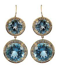 Andrea Fohrman - London Blue Topaz Earrings - Lyst