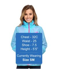 The North Face - Blue Flyweight Lined Jacket - Lyst