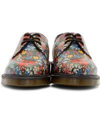 Dr. Martens | Multicolor Floral 1461 Derbys | Lyst