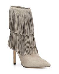 Sam Edelman - Gray 'belinda' Boots - Lyst