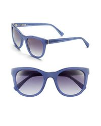 Derek Lam | Blue 'haley' 52mm Sunglasses | Lyst