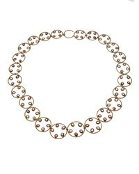 Marie-hélène De Taillac | Metallic Hoop Necklace | Lyst