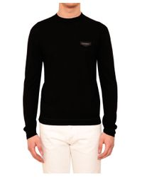 Givenchy - Black Rottweiler Cotton Sweater for Men - Lyst