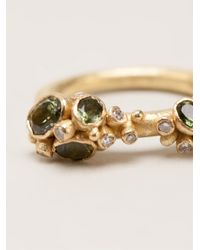 Ruth Tomlinson - Metallic Diamond Ring - Lyst