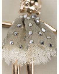 Servane Gaxotte - Metallic Bird Doll Necklace - Lyst