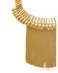 House of Lavande | Metallic Fringe Collar | Lyst