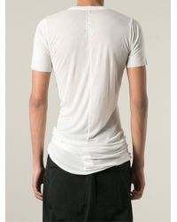 Rick Owens - White Long T-Shirt for Men - Lyst