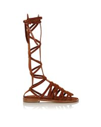 Manolo Blahnik - Brown Martihizi Gladiator Sandals - Lyst