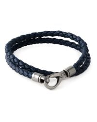Tod's | Blue Braided Bracelet | Lyst