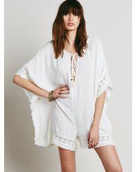 Free People | White Endless Summer Womens Keepin Up Kromper | Lyst
