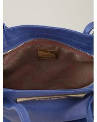 Vivienne Westwood - Blue Maddox Leather Shoulder Bag - Lyst