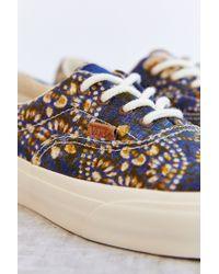 8b2cf8290ef0d0 Lyst - Vans Batik Indigo Era California Womens Sneaker