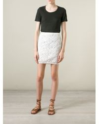 Étoile Isabel Marant - Gray 'kepler' T-shirt - Lyst