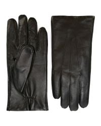 Orciani - Black Classic Gloves for Men - Lyst