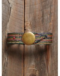 Free People - Multicolor Vintage Raffia Belt - Lyst