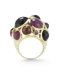 Ippolita - Multicolor Pre-Owned: 18Ky Rock Candy Large Multi Stone Cocktail Ring - Lyst