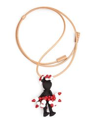 Marni | Pink Doll Rope Necklace | Lyst
