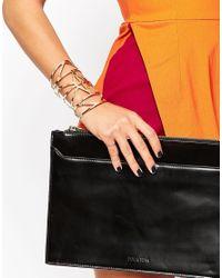 ALDO | Metallic Gunnett Cuff Bracelet | Lyst