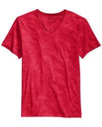 Guess - Red Gunnarson Acid-wash T-shirt for Men - Lyst