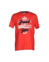 Frankie Morello - Red T-shirt for Men - Lyst