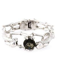Alexander McQueen | Metallic Skeleton Bracelet | Lyst