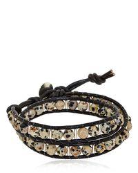 Colana | Brown Dalmatian Bracelet | Lyst