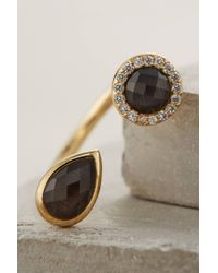 Melanie Auld | Metallic Teary Labradorite Ring | Lyst