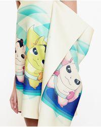 Awake - Multicolor Bad Yoda Mini Dress - Lyst